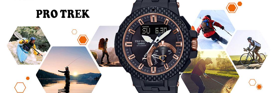 Casio Uhren Pro trek kollektion