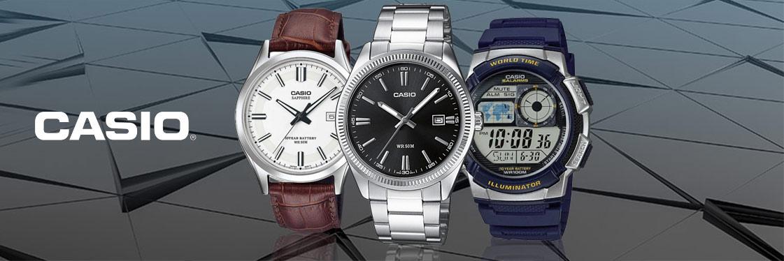 Casio Uhren Kollektion