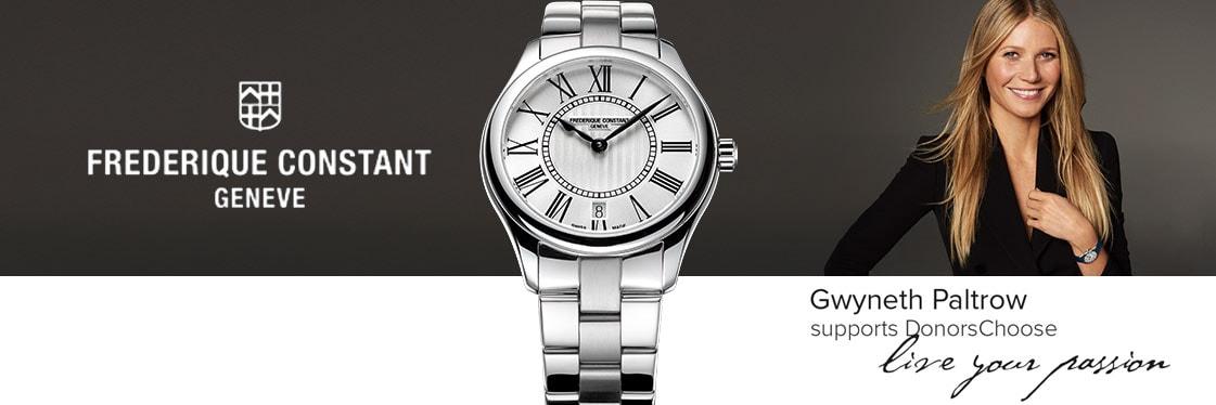 Frédérique Constant Uhren Gwyneth Paltrow