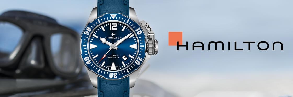 Hamilton Khaki Navy Frogman Auto montre homme | H77705345