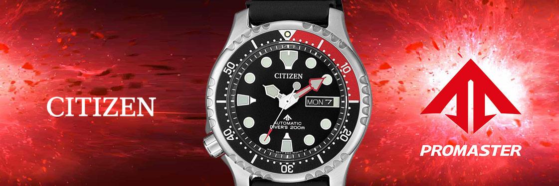 Citizen Pro Master Uhren Kollektion
