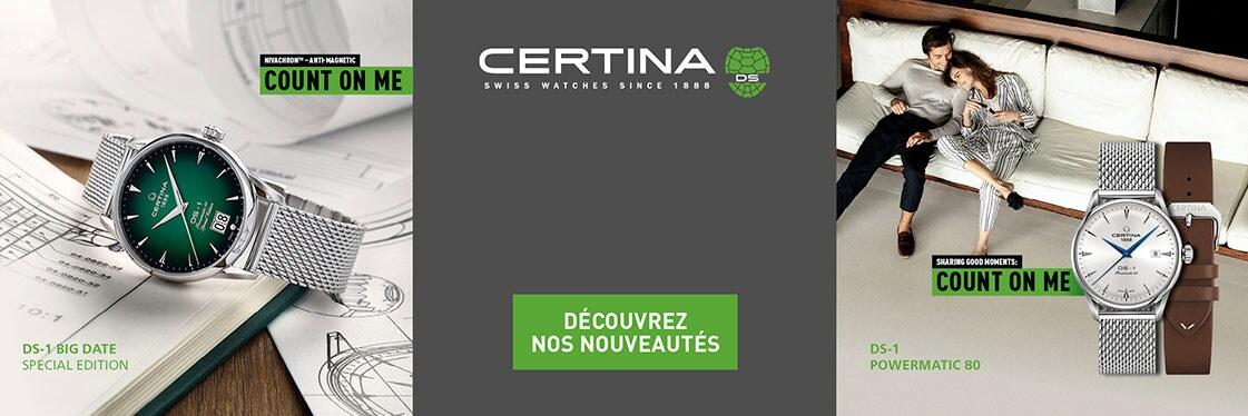 Montres Certina DS 1 Powermatic 80