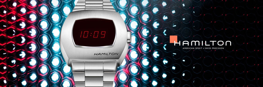 Hamilton American Classic PSR Digital Quartz Uhr (Pulsar 2020)