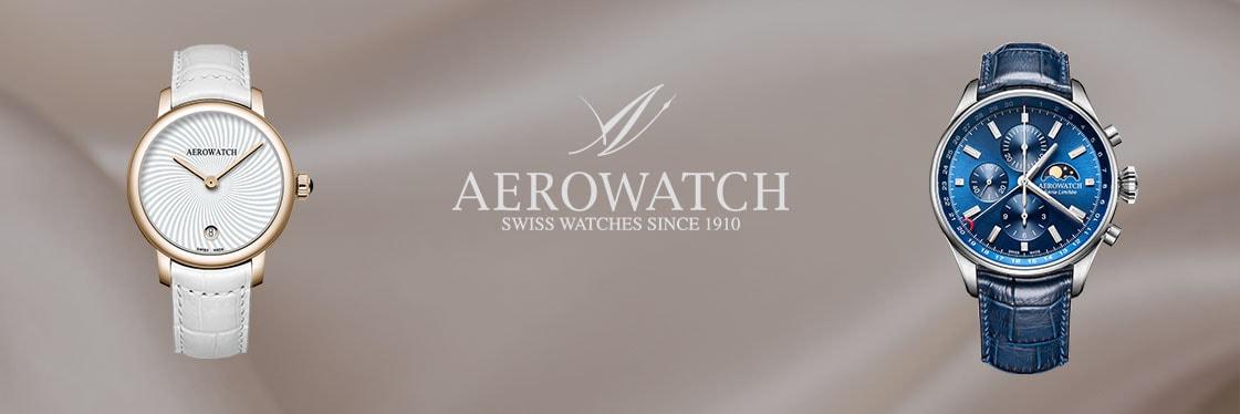 Découvrez les montres Aerowatch