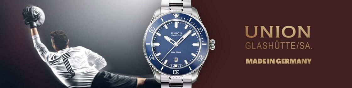 Union Glashütte Belisar Date Sport Automatique Bleu