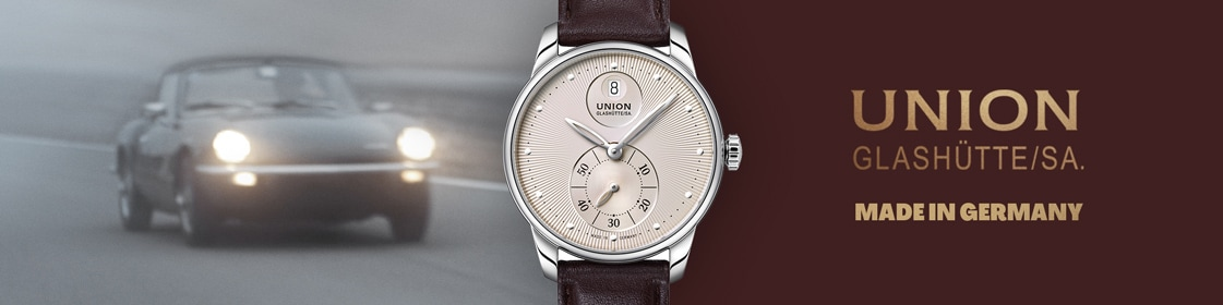 Union Glashütte Seris Kleine Sekunde Automatik Grau / Leder