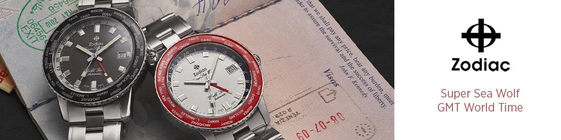 Découvrir les montres Zodiac Super Sea Wolf