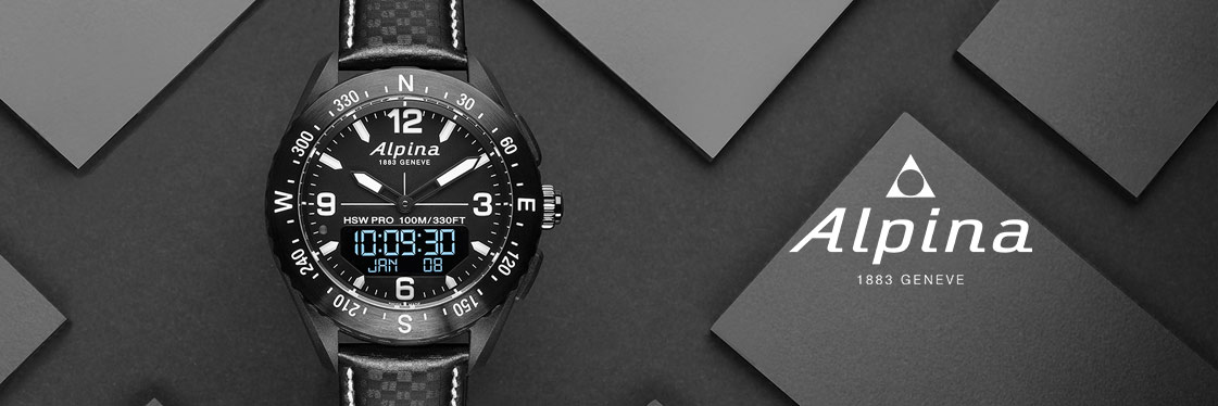 Alpina Uhr Horological Smartwatch AlpinerX