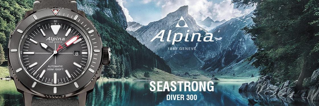 Alpina Uhren Seastrong Diver 300 Automatic