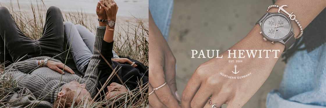 Paul Hewitt Bijoux Montres collection