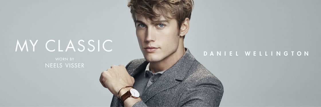 Daniel Wellington My Classic - worn by Neels Visser