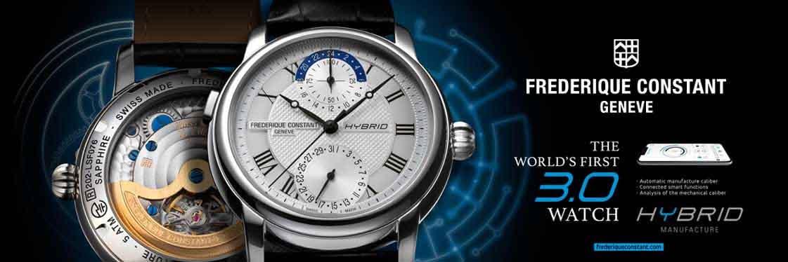 Frédérique Constant Hybrid Manufacture Horological Smartwatch - FC-750MC4H6