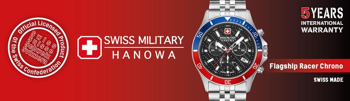 Swiss Military Hanowa Flagship Racer Chronograph Herrenuhr