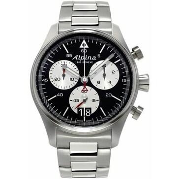 Alpina Startimer Pilot Chrono Big Date AL-372BS4S6B