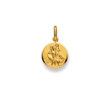 Anhänger 750/18 K Gelbgold, Christophorus 1158.02013/0124