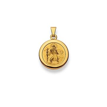 Anhänger 750/18 K Gelbgold, Christophorus 1158.03092/1400
