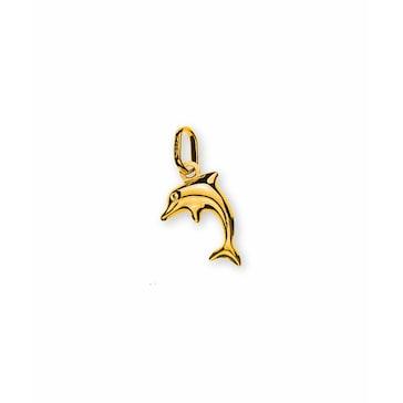Anhänger 750/18 K Gelbgold, Delfin