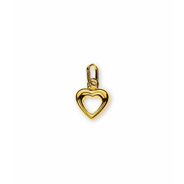 Anhänger 750/18 K Gelbgold, Herz