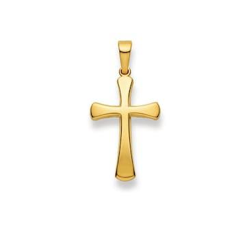 Anhänger 750/18 K Gelbgold, Kreuz 1158.02419/0002
