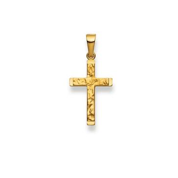 Anhänger 750/18 K Gelbgold, Kreuz 1158.02421/0002