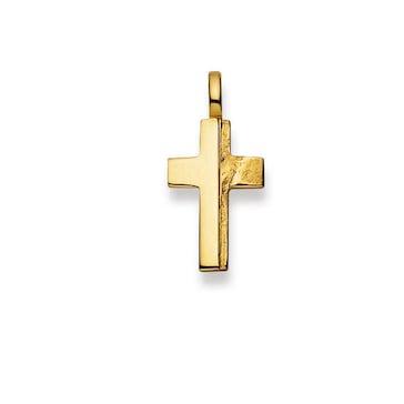Anhänger 750/18 K Gelbgold, Kreuz 1158.02989/0001