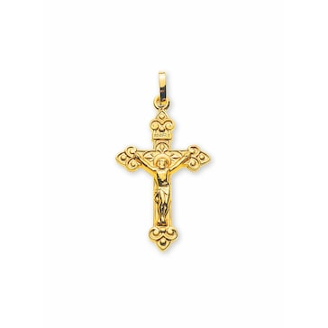 Anhänger 750/18 K Gelbgold, Kreuz
