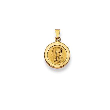 Anhänger 750/18 K Gelbgold, Madonna 1158.02837/1200