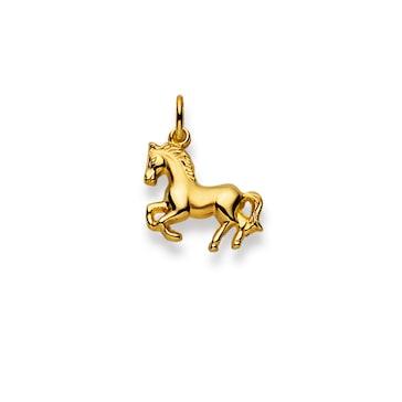 Anhänger 750/18 K Gelbgold, Pferd 1156.08339/0001