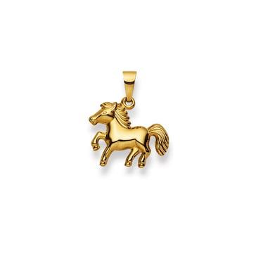 Anhänger 750/18 K Gelbgold, Pferd 1156.08505/0001