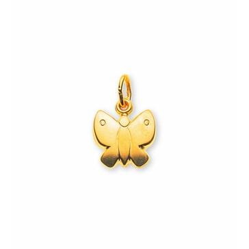 Anhänger 750/18 K Gelbgold, Schmetterling