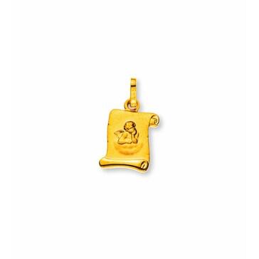 Anhänger 750/18 K Gelbgold, Schutzengel
