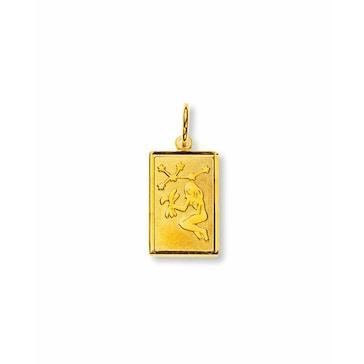 Anhänger 750/18 K Gelbgold, Sternzeichen Jungfrau