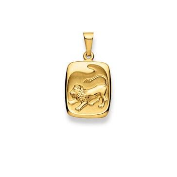 Anhänger 750/18 K Gelbgold, Sternzeichen Löwe