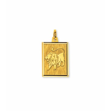 Anhänger 750/18 K Gelbgold, Sternzeichen Löwe AST1020