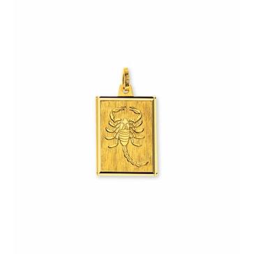 Anhänger 750/18 K Gelbgold, Sternzeichen Skorpion