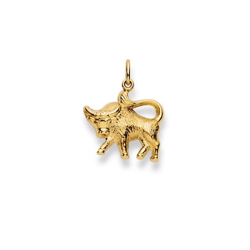 Anhänger 750/18 K Gelbgold, Sternzeichen Stier 1154.06020/0050