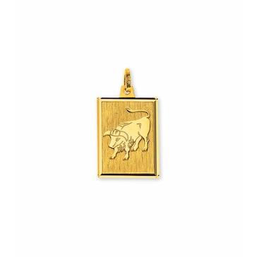 Anhänger 750/18 K Gelbgold, Sternzeichen Stier