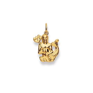 Anhänger 750/18 K Gelbgold, Sternzeichen Wassermann 1154.06020/0020