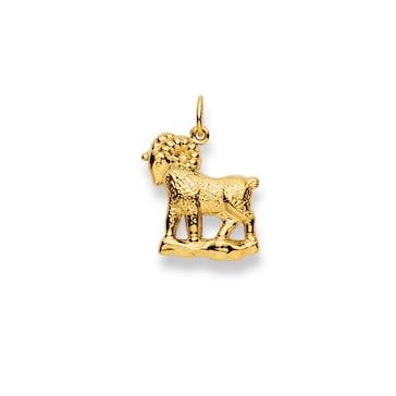 Anhänger 750/18 K Gelbgold, Sternzeichen Widder 1154.06020/0040