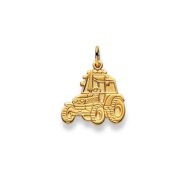 Anhänger 750/18 K Gelbgold, Traktor 1156.07230/0004