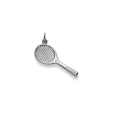 Anhänger 750/18 K Weissgold, Tennisschläger 1256.08520/0001