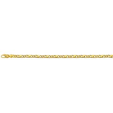 Carrera-Armband poliert 750/18 K Gelbgold 5.0mm - 22cm