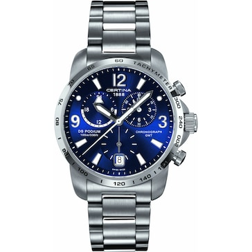 Certina DS Podium Big Size Chrono GMT C001.639.11.047.00