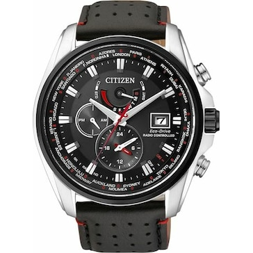 Citizen Elegant Dual Time Eco-Drive Radio Controlled AT9036-08E