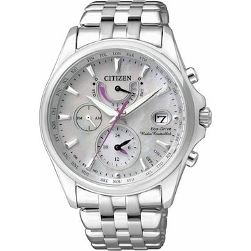 Citizen Elegant Dual Time Eco-Drive Radio Controlled