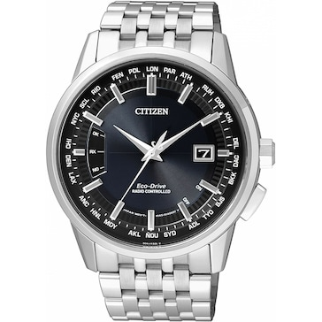 Citizen Elegant World Timer Eco-Drive Radio Controlled CB0150-62L