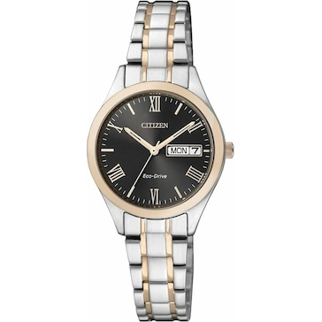 Citizen Sports Lady Day-Date Eco-Drive EW3197-89EE
