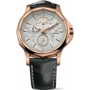 Corum Admiral's Cup Legend 42 Meteorite Dual Time A283/02034 283.101.55/0001 PX34