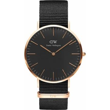 Daniel Wellington Classic Black Cornwall Ø 40mm DW00100148