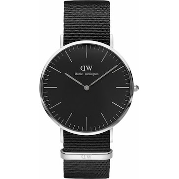 Daniel Wellington Classic Black Cornwall Ø 40mm